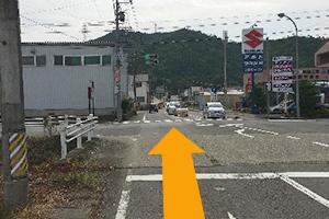 関市・福富方面から道順1