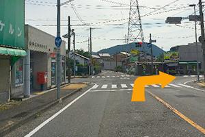 関市・福富方面から道順3