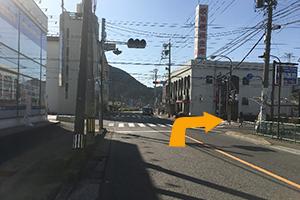 関市・福富方面から道順4